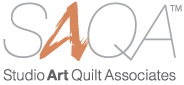 studio art quilters association logo